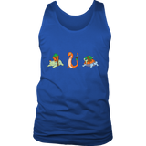 Pokemonster-Pokefuny---Kids,-Men,-Women's-Shirt,-Tank-Top,-Hoodie-District-Unisex-Shirt-Royal-Blue-S