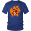 Pokemonster-Lizard---Fire-T-Shirt-District-Unisex-Shirt-Royal-Blue-S
