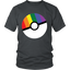 Pokemon-'Prideball'-LGBT-Pokeball---Tshirt,-Tank-top,-Hoodie---TEEEVER-District-Unisex-Shirt-Navy-S