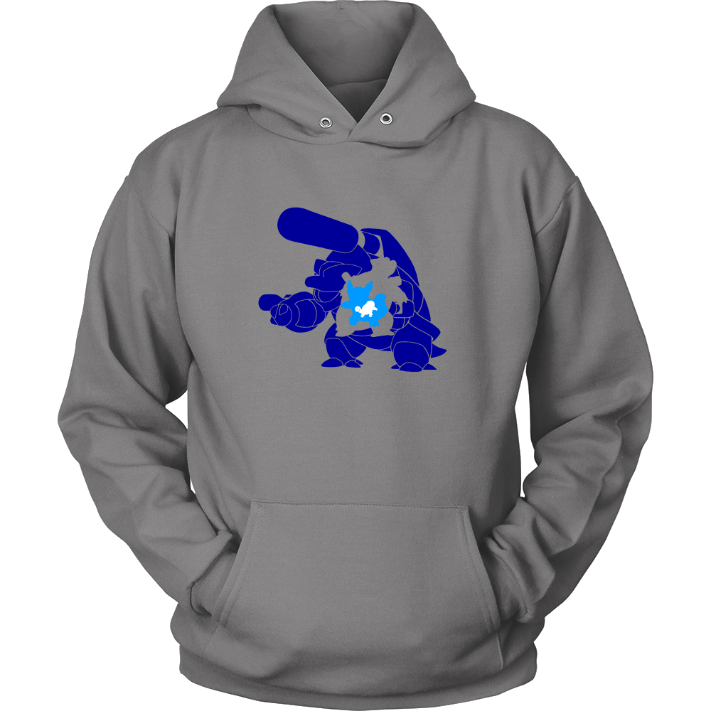 Pokemonster-squitre-and-wartorle-andblastoise---Kids,-Men,-Women's-Shirt,-Tank-Top,-Hoodie-District-Unisex-Shirt-White-S