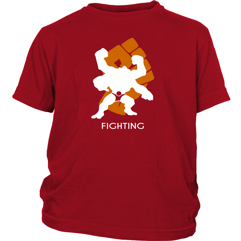 Pokemonster-Fighting---Kids,-Men,-Women's-Shirt,-Tank-Top,-Hoodie-District-Unisex-Shirt-Royal-Blue-S