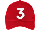 chance the rapper, chance 3 love - Embroidered hat,Cap - TEEEVER