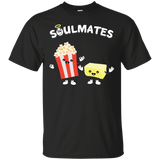 Soulmates---Popcorn-And-Butter-T-Shirt-Custom-Ultra-Cotton-T-Shirt-Black-Small