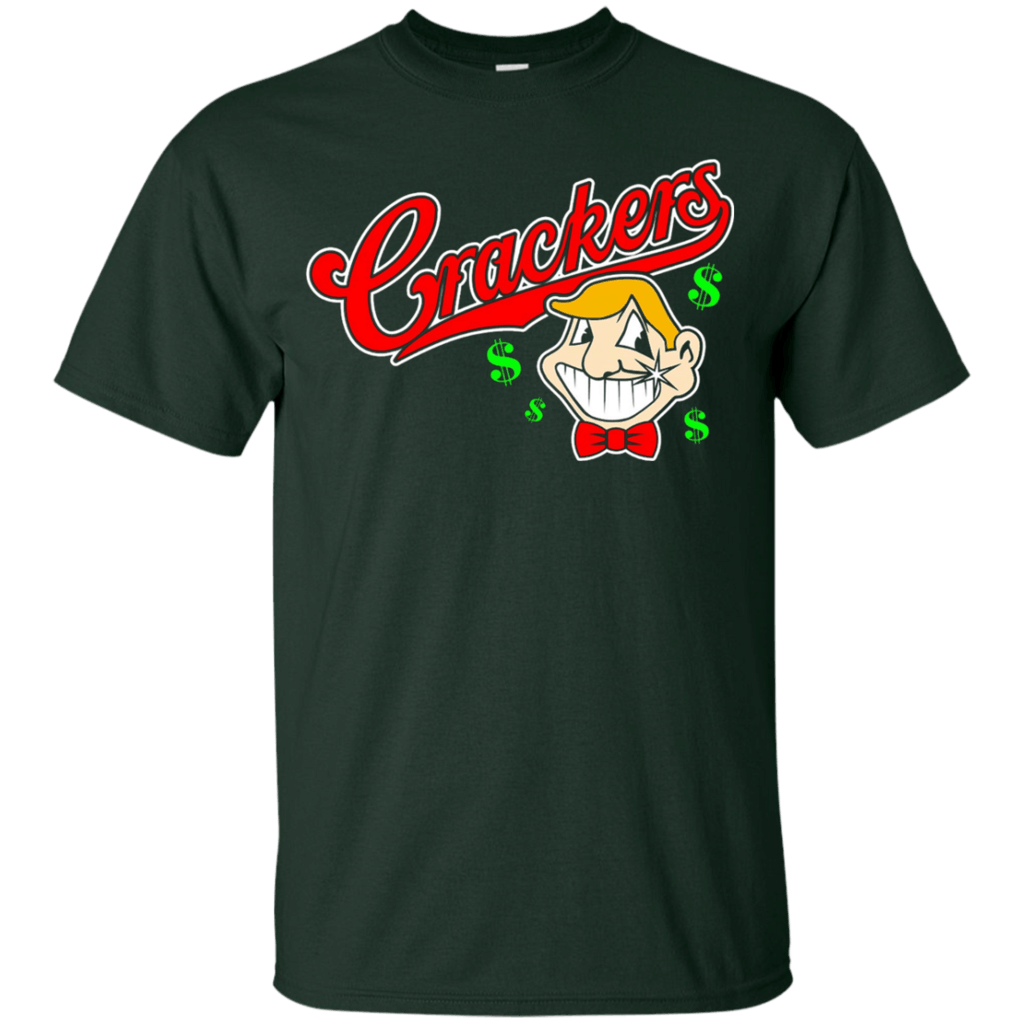 Caucasians-T-Shirt---Cleveland-Shirt-Crackers-Custom-Ultra-Cotton-T-Shirt-Black-Small