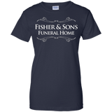 Fisher-_amp_-Sons-Funeral-Home-T-Shirt-funny-saying-sarcastic-tv-Custom-Ultra-Cotton-T-Shirt-Black-Small