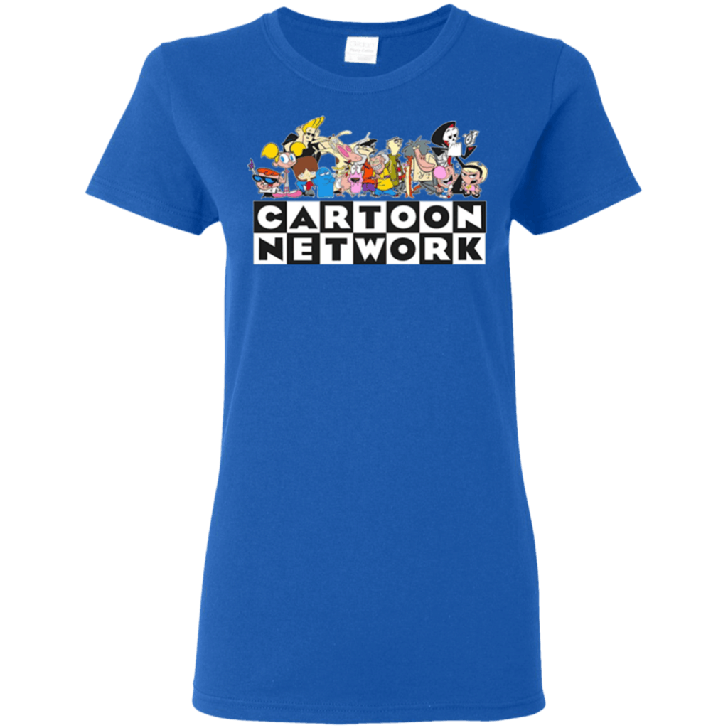 Perfect-Cartoon-Network-Classic-Character-Feature-T-shirt-hoodie-sweater-Gildan-Ultra-Cotton-T-Shirt-Black-S