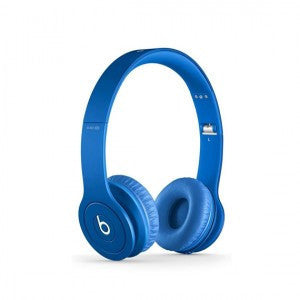 the blue headphone