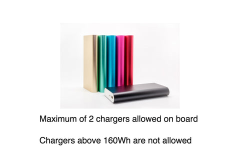 Power Bank Restrictions on your Carry On Luggage