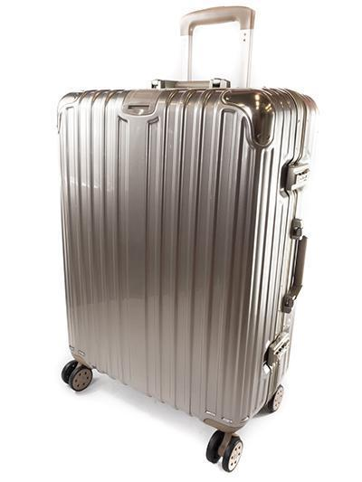 TravelSupplies Custom Aluminium Frame Luggage  Singapore
