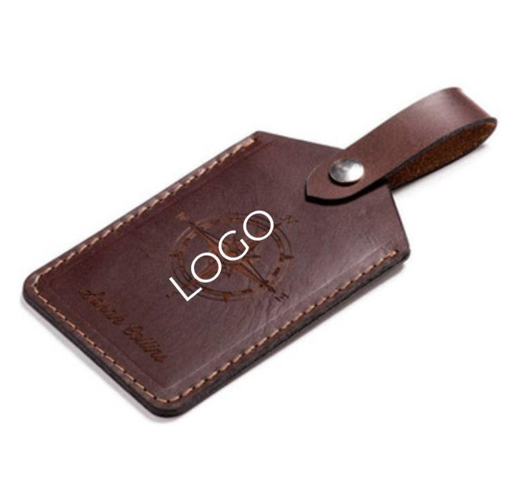 TravelSupplies Custom Leather Luggage Tag  Singapore
