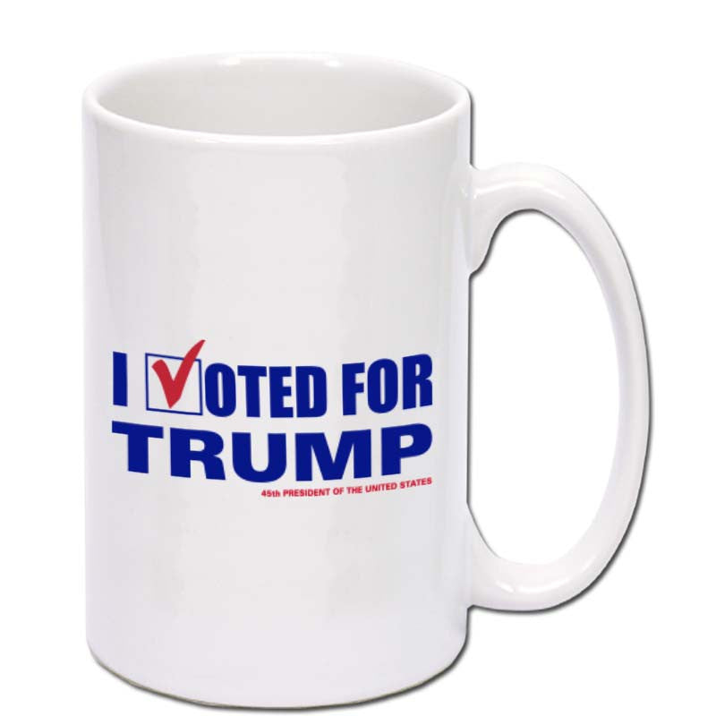 I Voted for Trump Coffee 15oz Mug