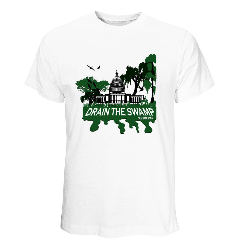 Drain The Swamp - Trump T-Shirt