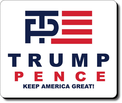 Donald Trump and Mike Pence Logo Mouse Pad