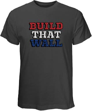"""Build That Wall"" Gray T Shirt"