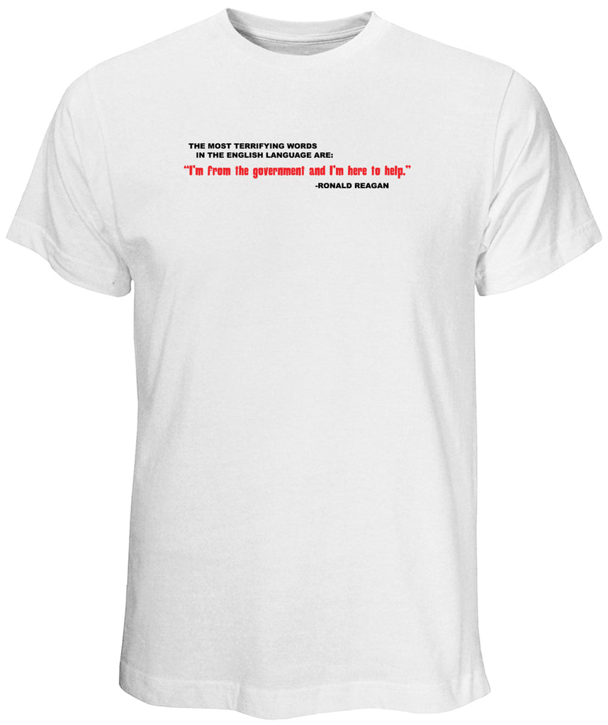 Reagan Quote White T-Shirt