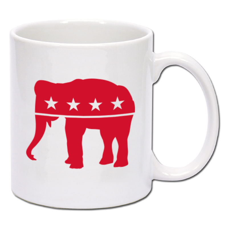 Republican - Red Elephant Coffee Mug