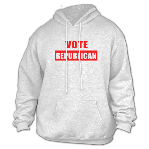 Vote Republican Gray Hoodie