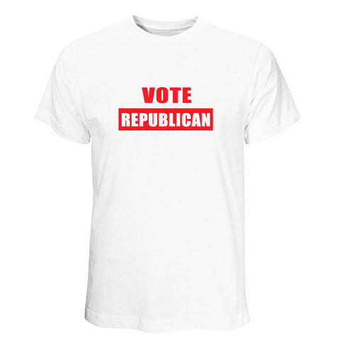 Vote Republican White T-Shirt