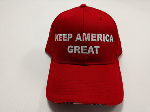 Donald Trump Keep America Great Red Cap