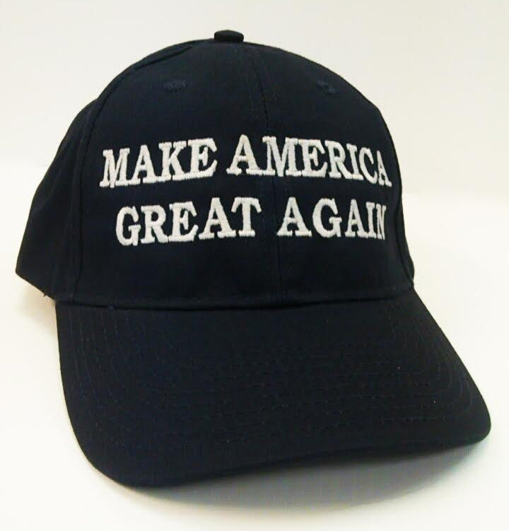 Donald Trump and Mike Pence Make America Great Again Navy Cap