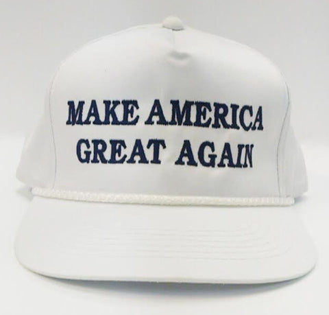 Donald Trump Make America Great Again White Cap