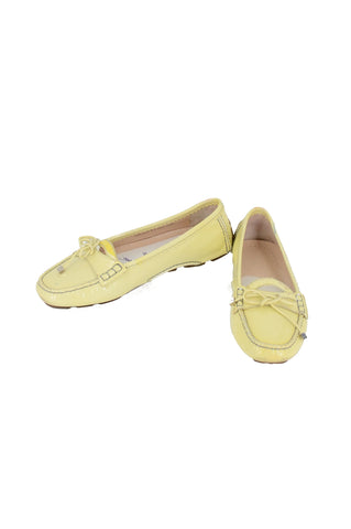 BALLY Light Yellow Loafers