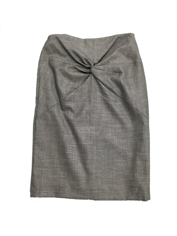 ESCADA Grey Knee Length Skirt