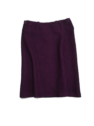 ST. JOHN Purple Skirt