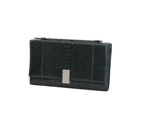 RALPH LAUREN Black Basil Clutch Bag