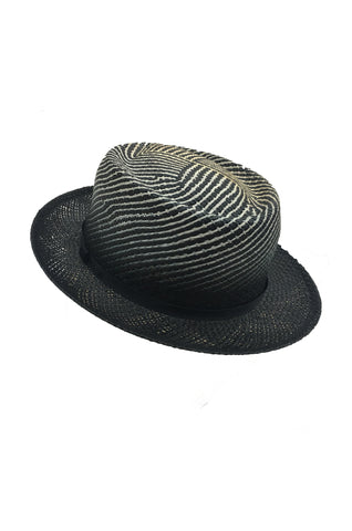BAILEY OF HOLLYWOOD Davos Black Straw Hat ( in aid of Hagar)