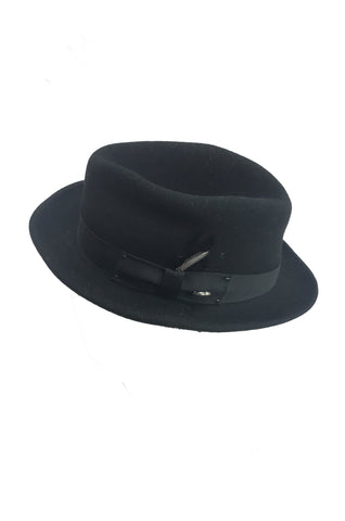 BAILEY OF HOLLYWOOD Black Fedora (in aid of Hagar)