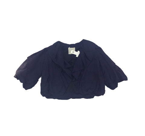 LANVIN Short Navy Jacket