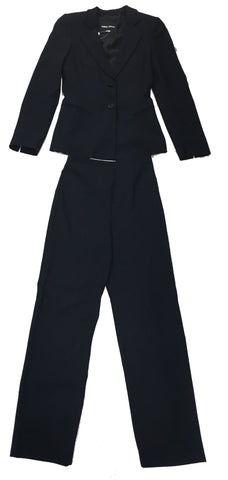 GIORGIO ARMANI Dark Navy Trouser Suit