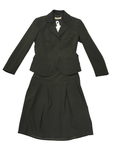 PRADA Brown Skirt Suit