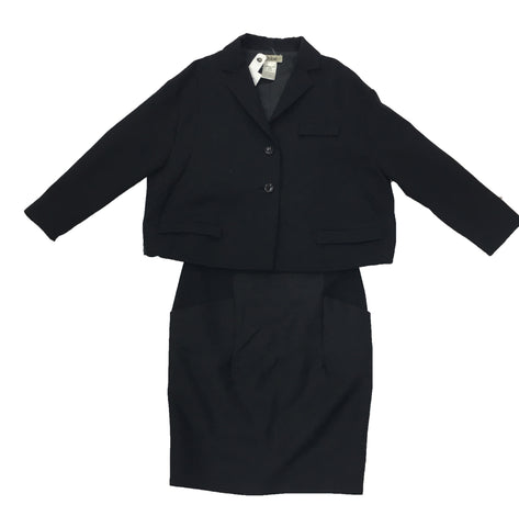 CHLOÉ Black Skirt Suit