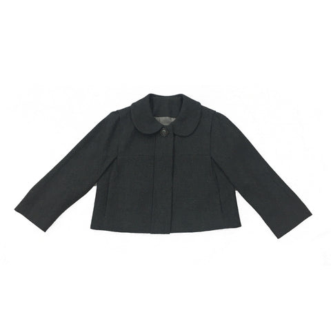 CHLOÉ Grey Short Jacket with Puritan Collar