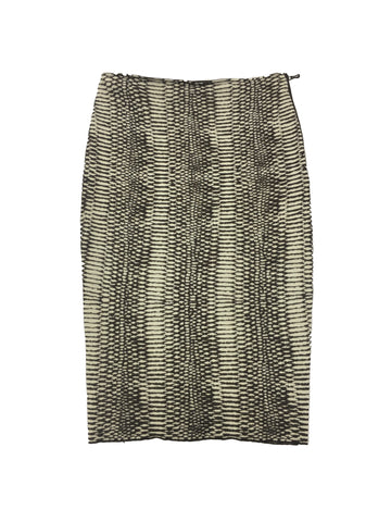 LANVIN Brown Beige Skirt