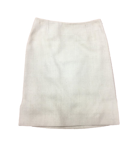 SELINA BLOW Pearl White Skirt