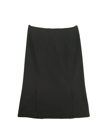 PRADA Black Lace Split Skirt