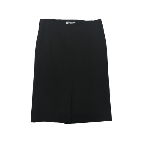 ALBERTA FERRETTI Black Wool Mix Skirt