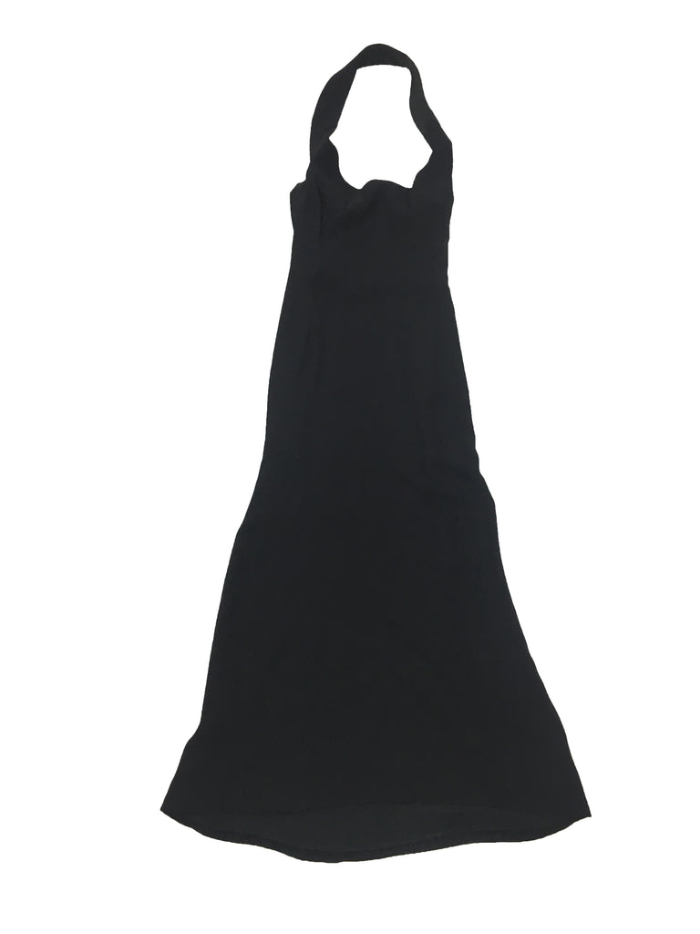 GUCCI Black Halterneck Evening Gown
