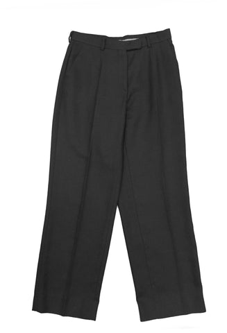 GIORGIO ARMANI Black Wide Trousers