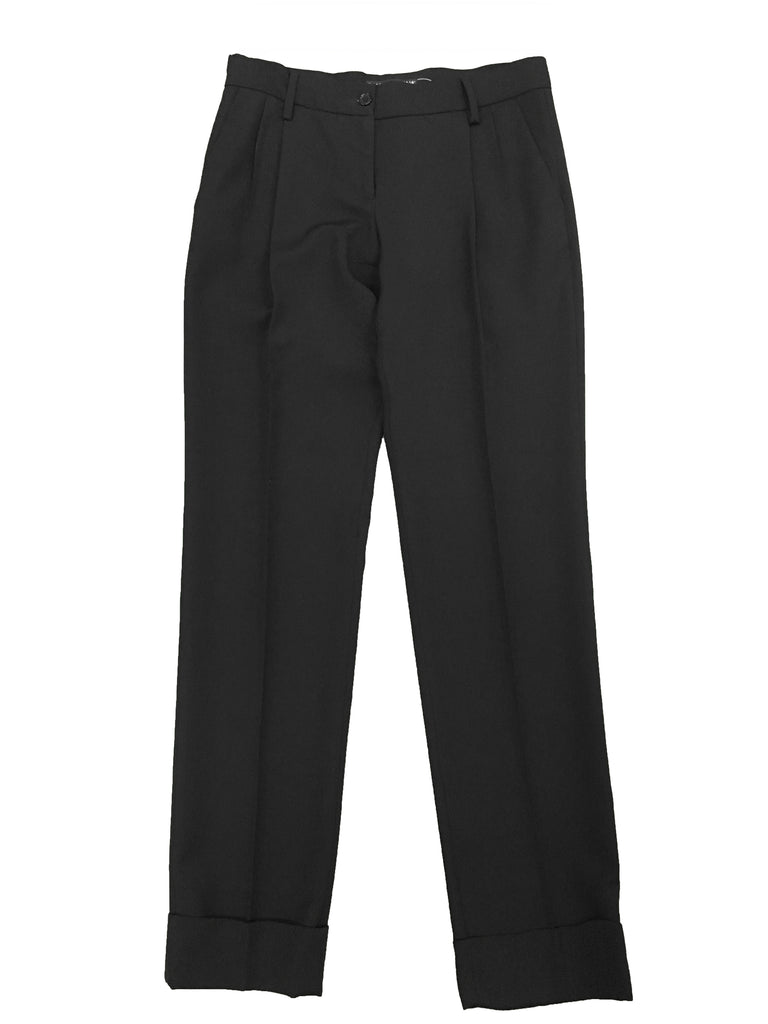 DOLCE & GABBANA Black Trousers