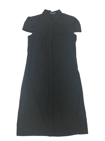 ALEXANDER MCQUEEN Black Shirtdress