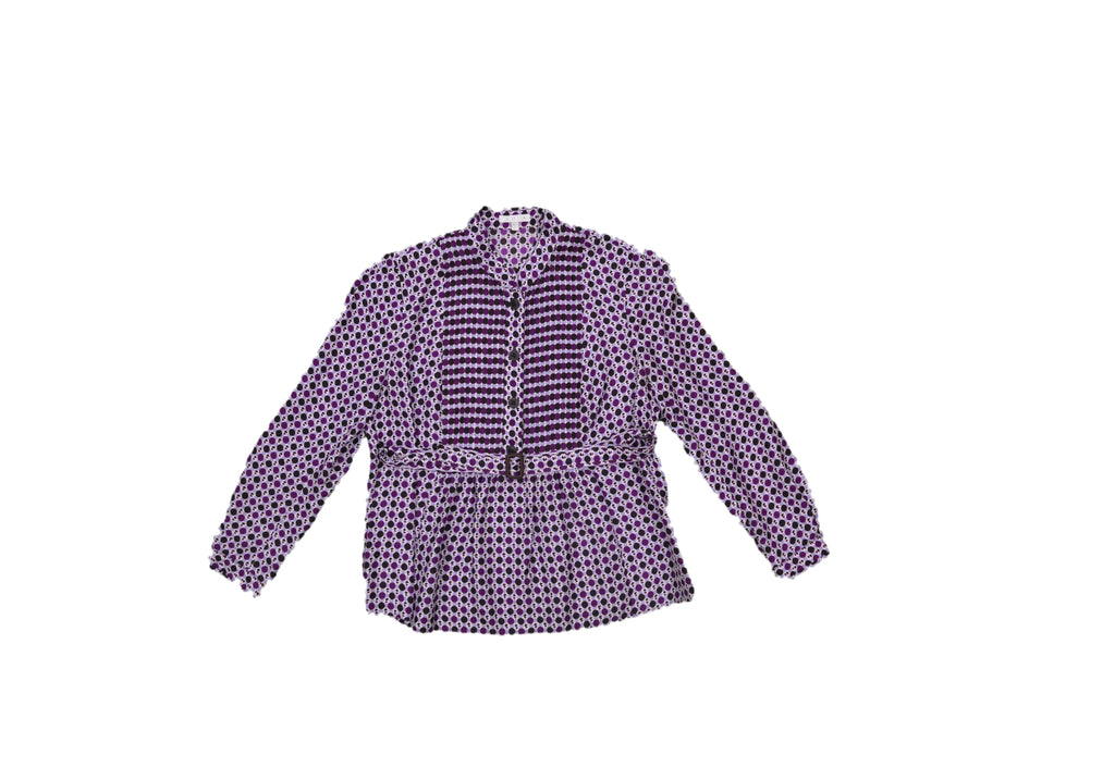 PAULE KA Purple Dotted Shirt