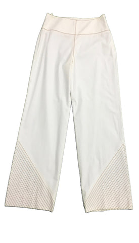 BOTTEGA VENETA White Trousers