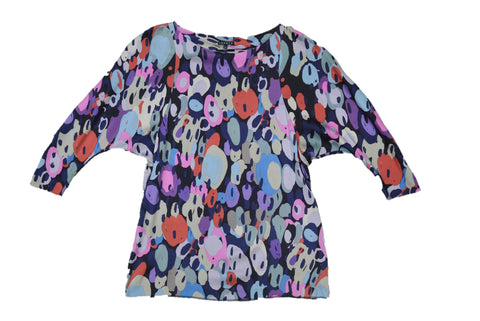 THEORY Multi-color Blouse