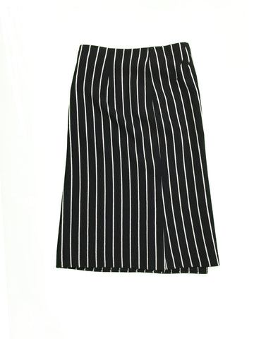 ARMANI COLLEZIONI Navy Skirt with White Stripe