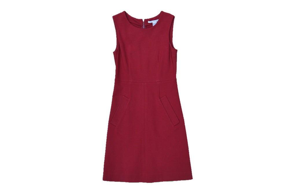 DIANE VON FURSTENBERG Red Dress