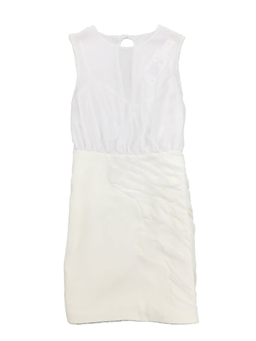 CAMILLA AND MARC White Flute Dress